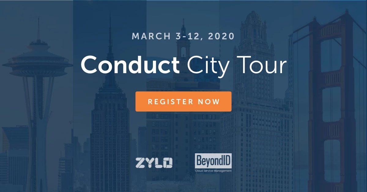 Conduct City Tour March 3-12, 2020 graphic